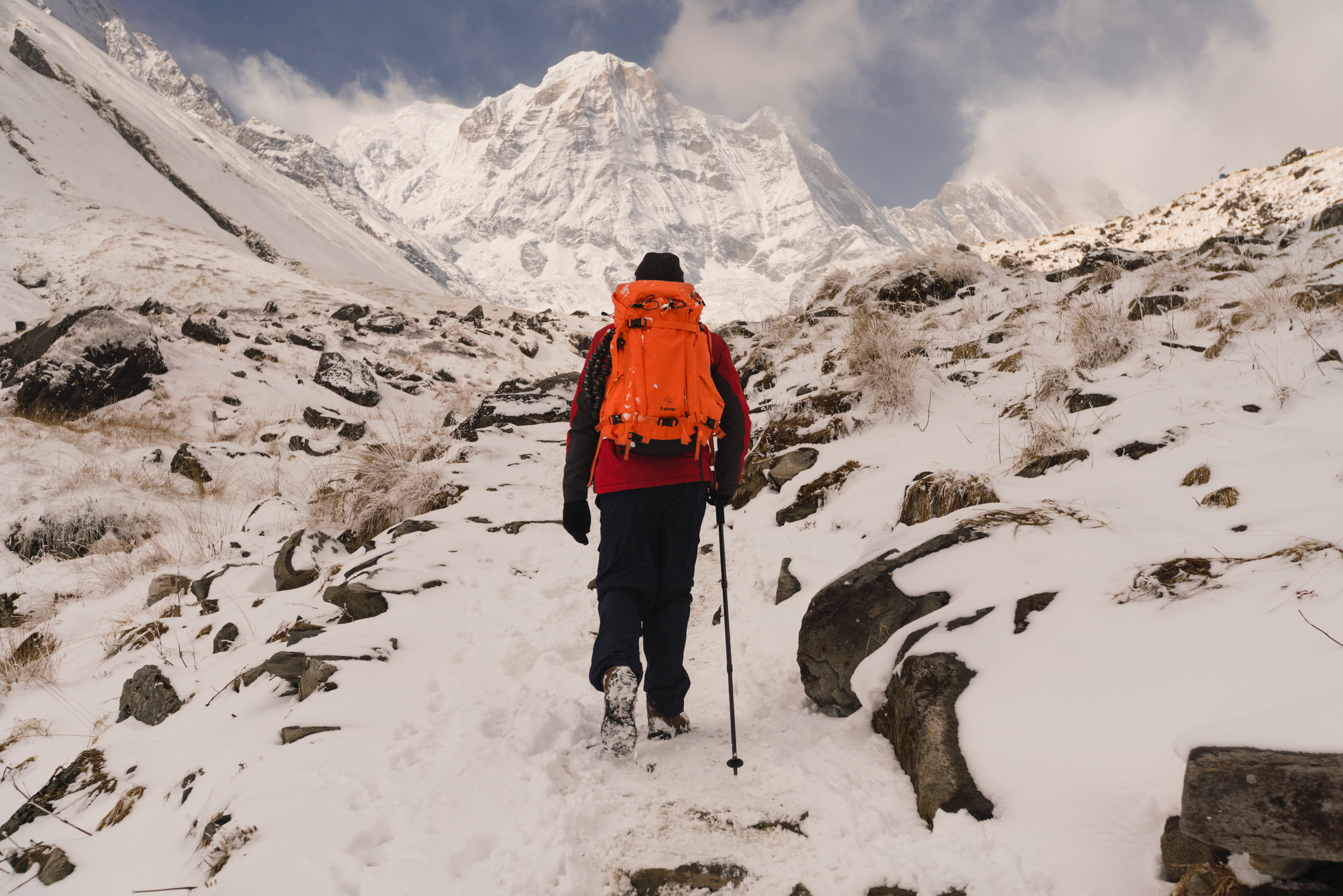 Hiking the Himalayas By Jacques Crafford