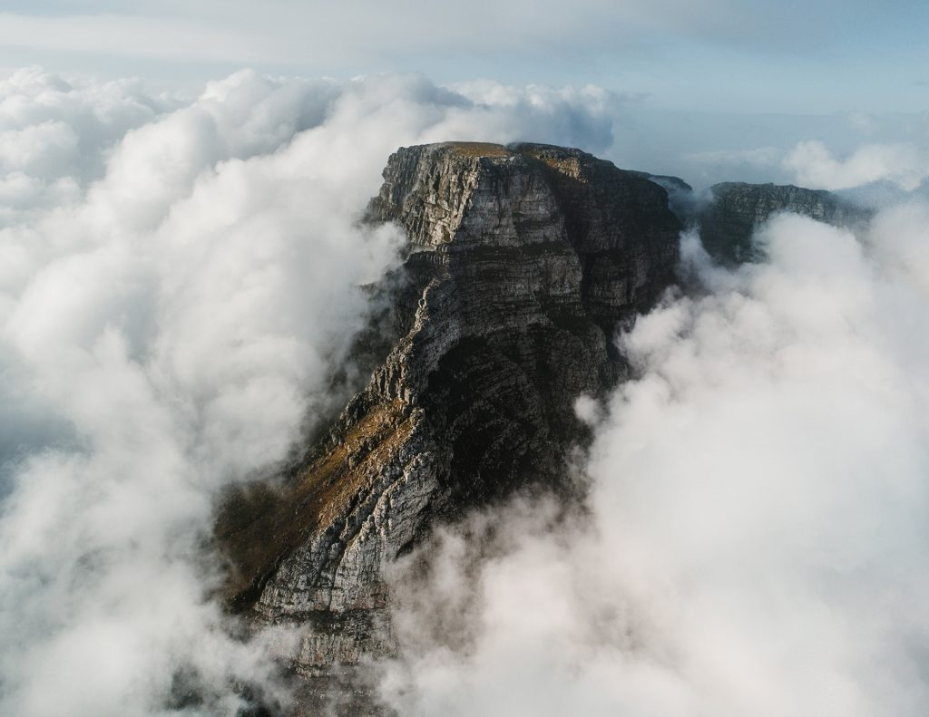 Table Mountain Clouds