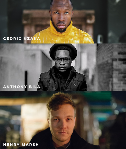 Cedric Nzaka, Anthony Bila, Henry Marsh