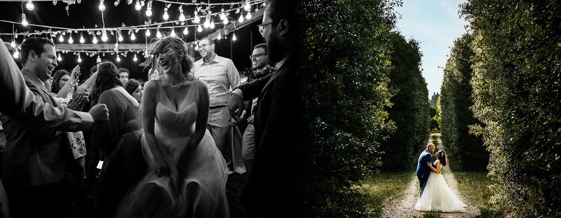 Wedding lighting scenario
