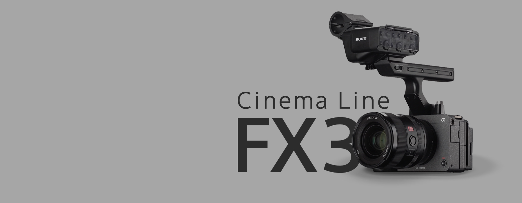 The Sony FX-3 in the Cine World