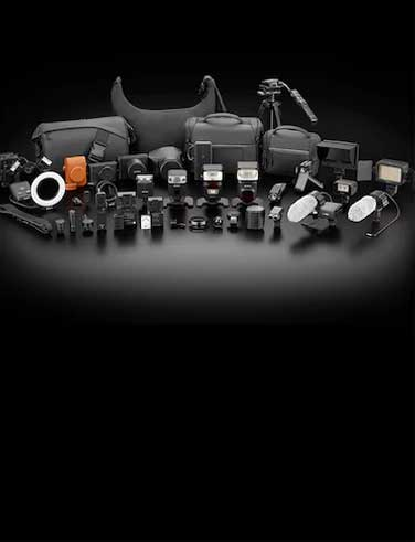 Sony Photography Accessory system chart