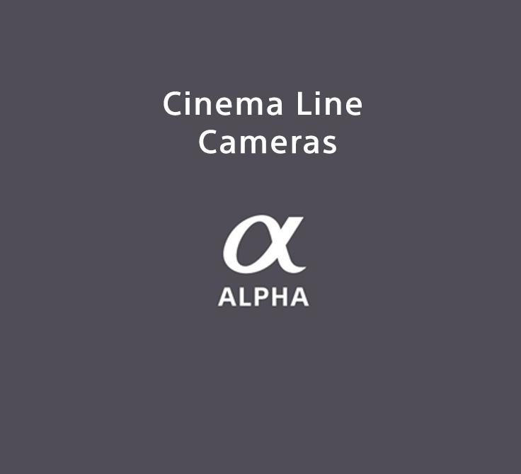 Cinema Line Cameras