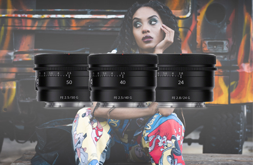 3 Lenses, 3 Perspectives, One love of story