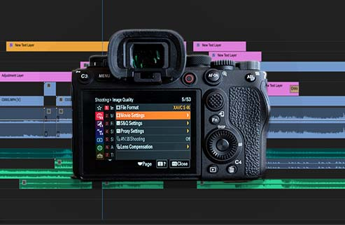 Best Alpha camera settings for video production