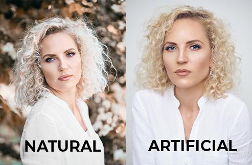 Artificial Vs Natural Light